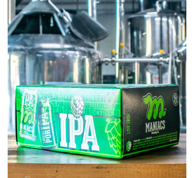Coolerbox Maniacs IPA 12 x 350ml