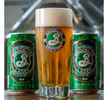 Combo Brooklyn Lager + Copo
